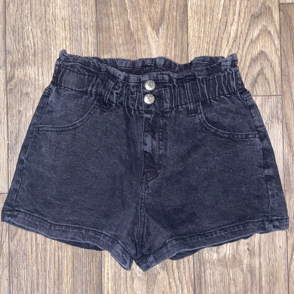 WILD FABLE Black Shorts Small